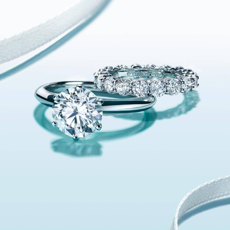 Wedding Rings : Tiffany Engagement Ring And Wedding Band The With Tiffany Men's Wedding Bands (View 13 of 15)