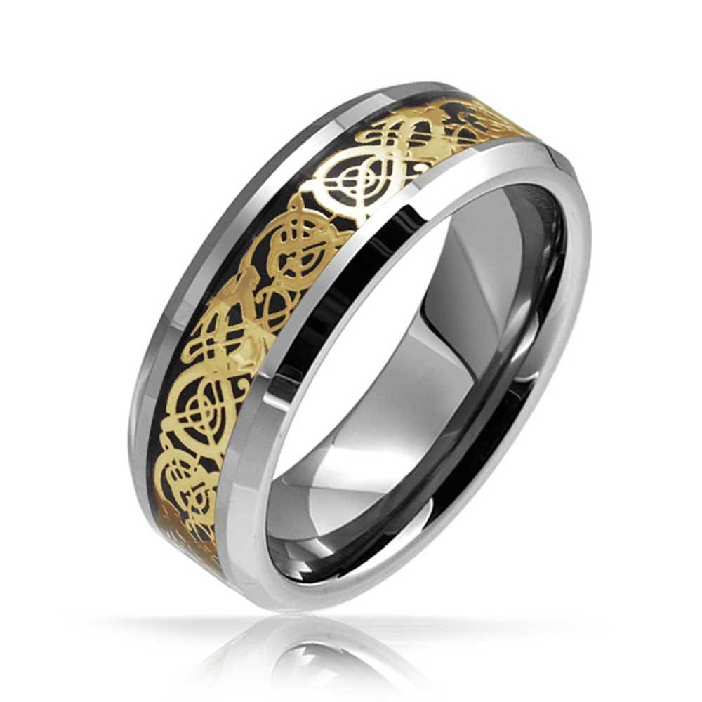 Wedding Rings : Triton Titanium Wedding Band For Him Triton For Celtic Wedding Bands For Him (View 11 of 15)