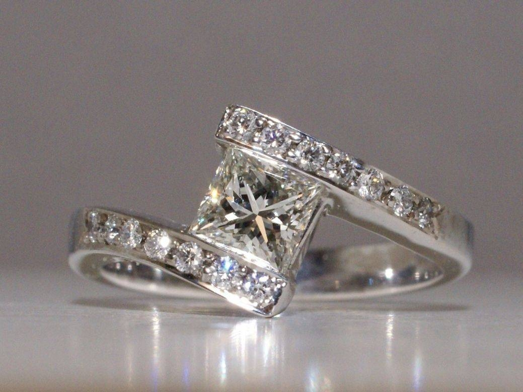 Wedding Rings : Wedding Band Ideas For My Odd Shaped Engagement Pertaining To Custom Wedding Bands To Fit Engagement Ring (Gallery 11 of 15)