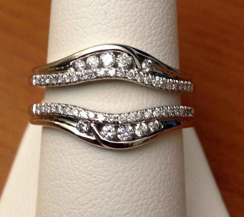 Wedding Rings : Wedding Band Wraps For Princess Cut Engagement Regarding Wrap Around Engagement Rings Wedding Band (View 4 of 15)