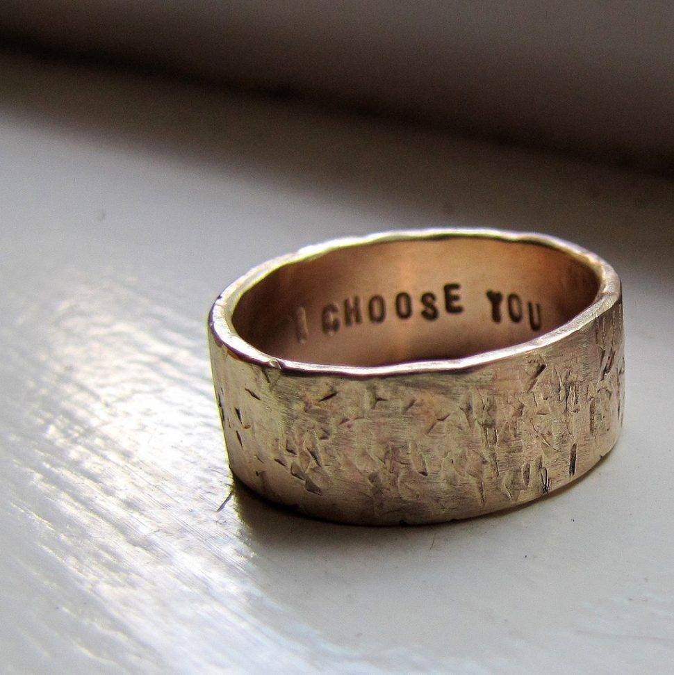 Wedding Rings : Wedding Ring Inscriptions Funny Wedding Ring Regarding Fun Wedding Rings (View 14 of 15)