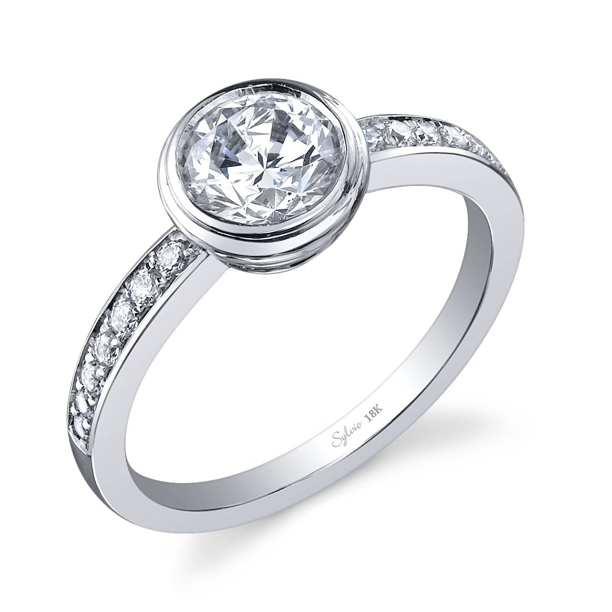 Wedding Rings : Wedding Ring Settings Without Diamonds Diamond Throughout Engagement Mounts (View 14 of 15)