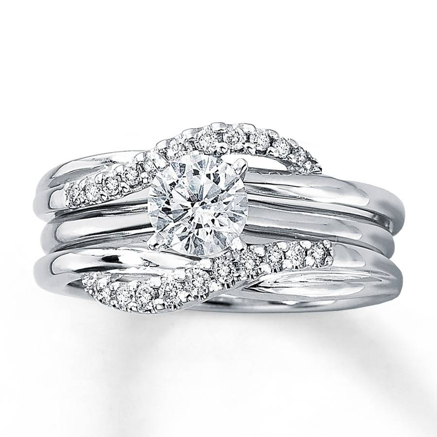 Wedding Rings : Wedding Ring Wraps Diamond Ring Settings Wedding Regarding Wrap Around Engagement Rings Wedding Band (View 14 of 15)