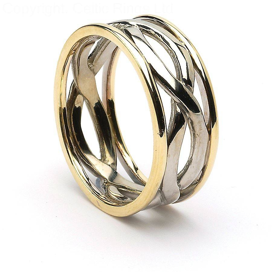 Wedding Rings : Wedding Rings Celtic Celtic Wedding Bands For Him Inside Mens Celtic Engagement Rings (View 9 of 15)