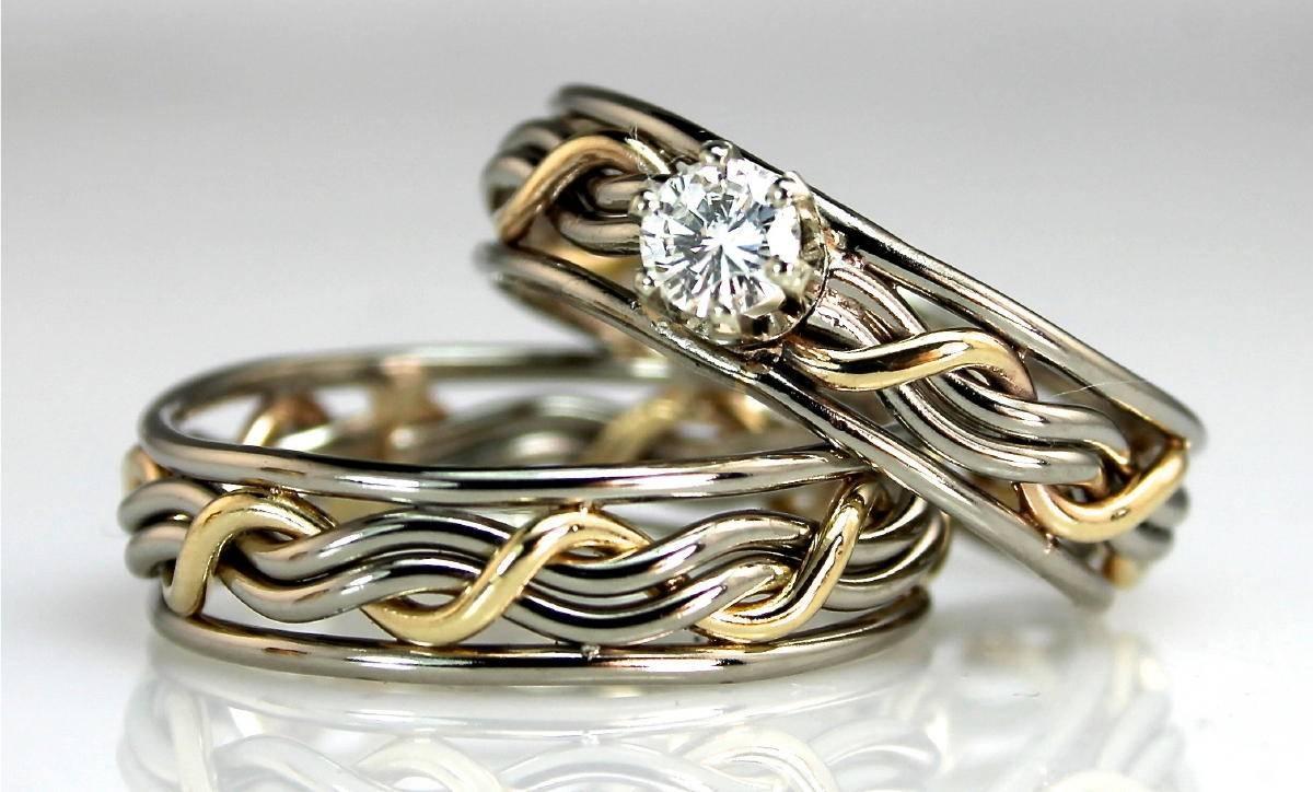Wedding Rings : Wedding Rings Sets Suitable Titanium Wedding Ring Inside Unique Wedding Rings Sets (View 12 of 15)