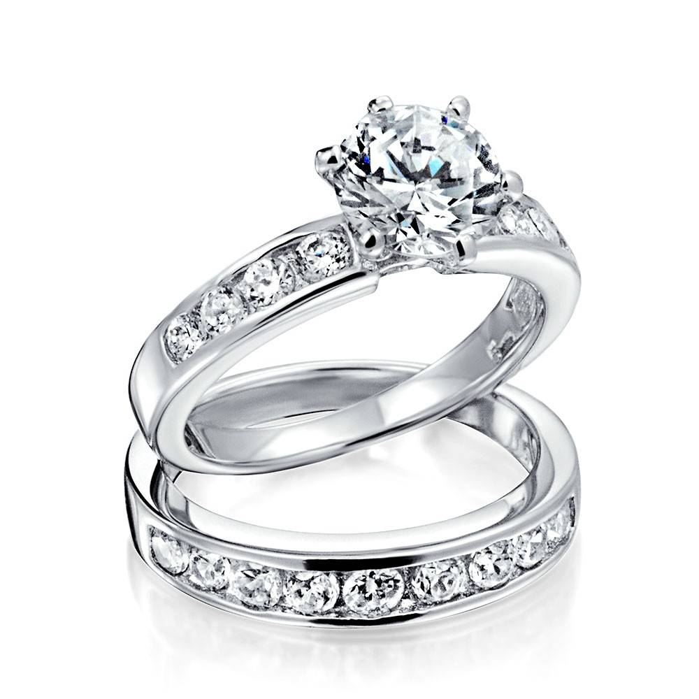 Wedding Rings : Womens Wedding Band Diamond Rings Vintage Regarding Engagement Marriage Rings (View 15 of 15)