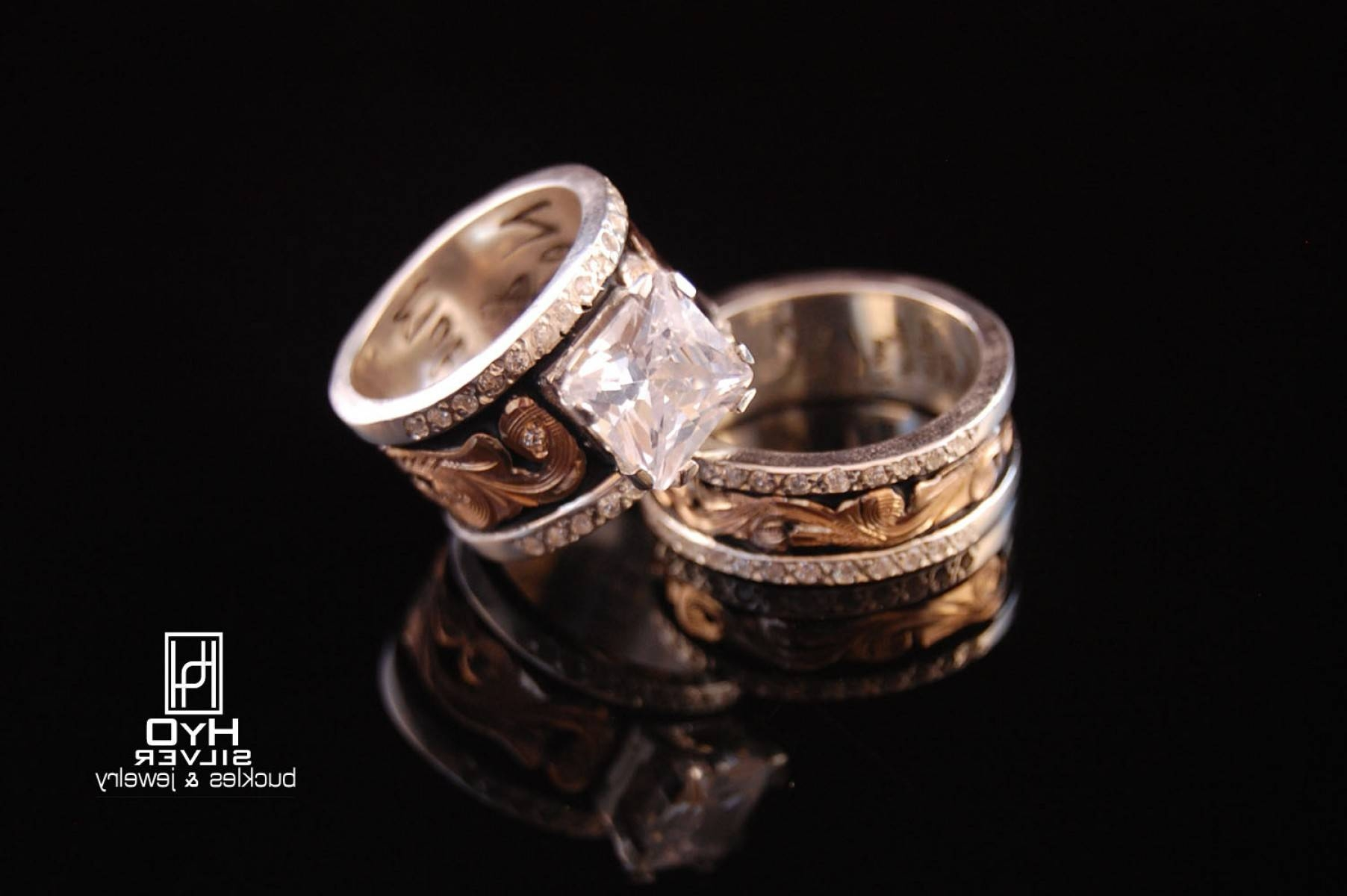 Western Wedding Ring Sets For Him And Her | Ksvhs Jewellery Within Western Wedding Rings (View 7 of 15)