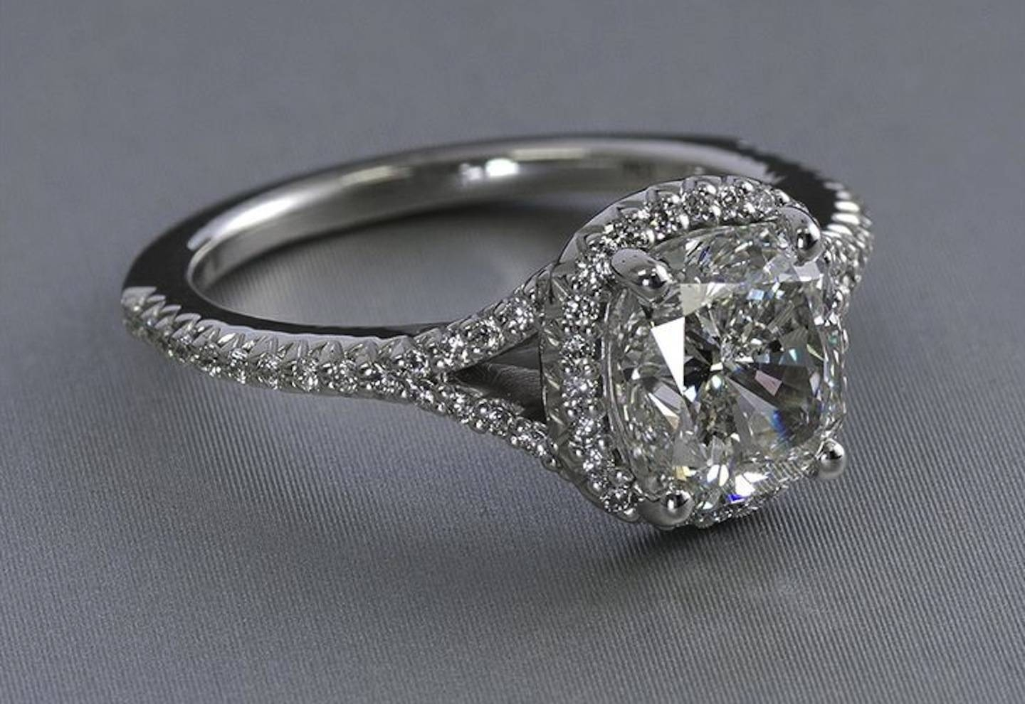 What Is A Split Shank Engagement Ring? | Ritani Inside Split Shank Wedding Rings (View 2 of 15)