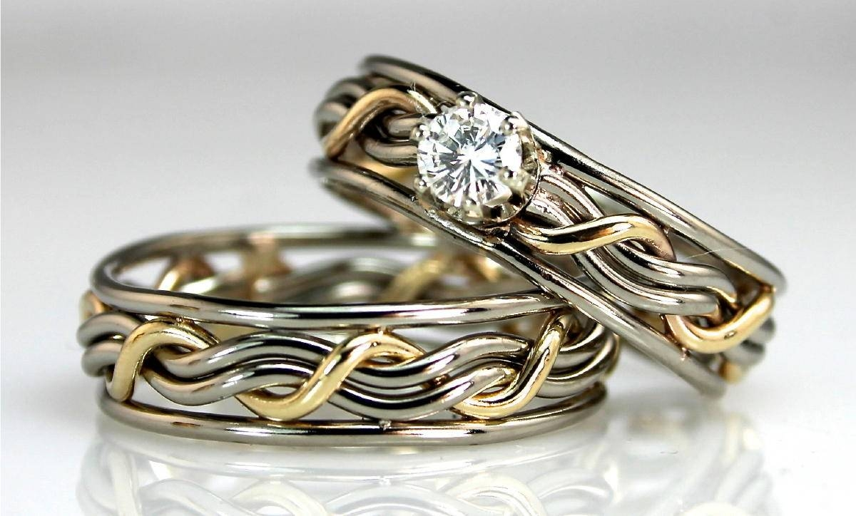 What You Need To Know About Unusual Wedding Rings | Wedding Pertaining To Unconventional Wedding Bands (View 5 of 15)