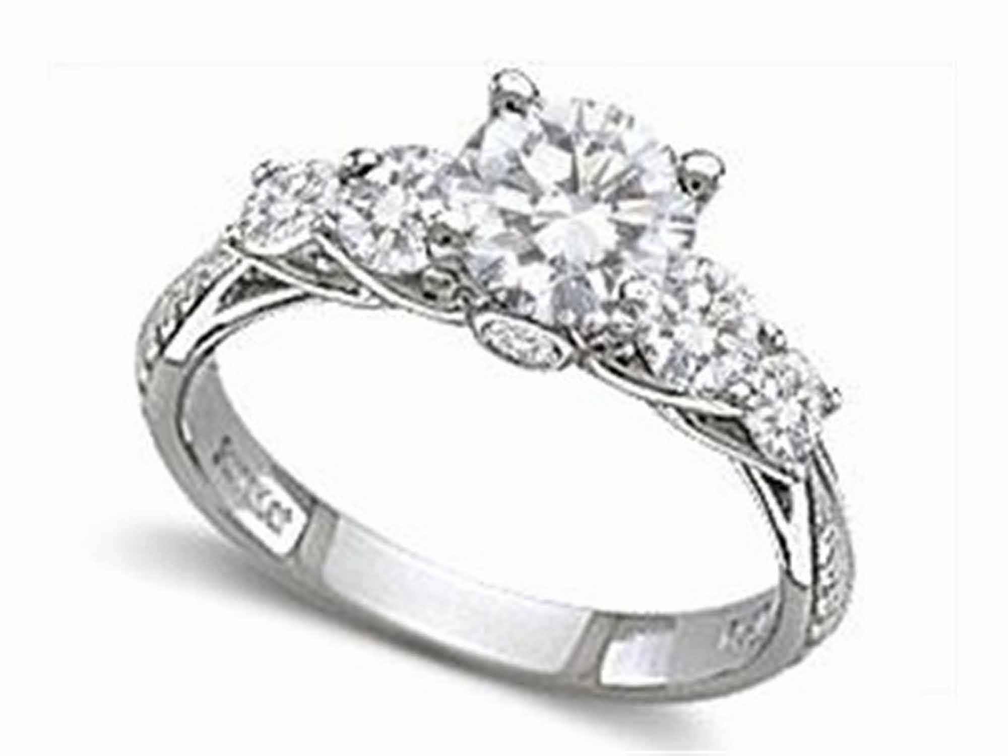 White Gold Engagement Rings Under 200 Luxury Engagement Rings Non Inside Engagement Rings For Under  (View 14 of 15)