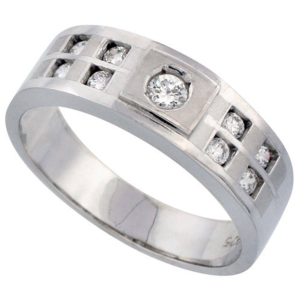 Wholesale Sterling Silver Wedding & Engagement Rings | Silver City, La Inside Men's Wedding Bands Size  (View 14 of 15)