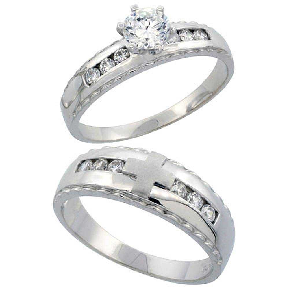 Wholesale Sterling Silver Wedding & Engagement Rings | Silver City, La Intended For Men's Wedding Bands Size  (View 15 of 15)
