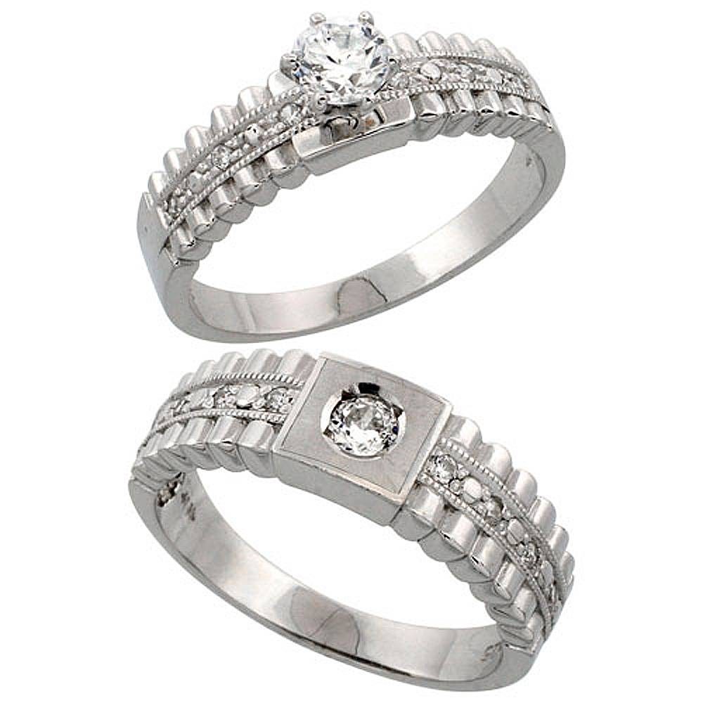 Wholesale Sterling Silver Wedding & Engagement Rings | Silver City, La Pertaining To Size 14 Men's Wedding Bands (View 9 of 15)