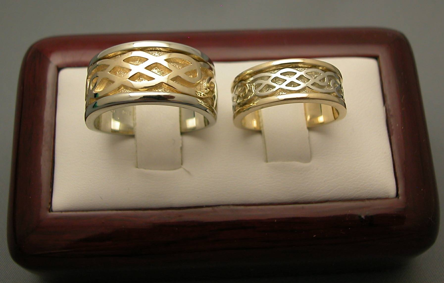 Wide Band Wedding Rings – The Wedding Specialiststhe Wedding With Regard To Ancient Wedding Rings (View 15 of 15)