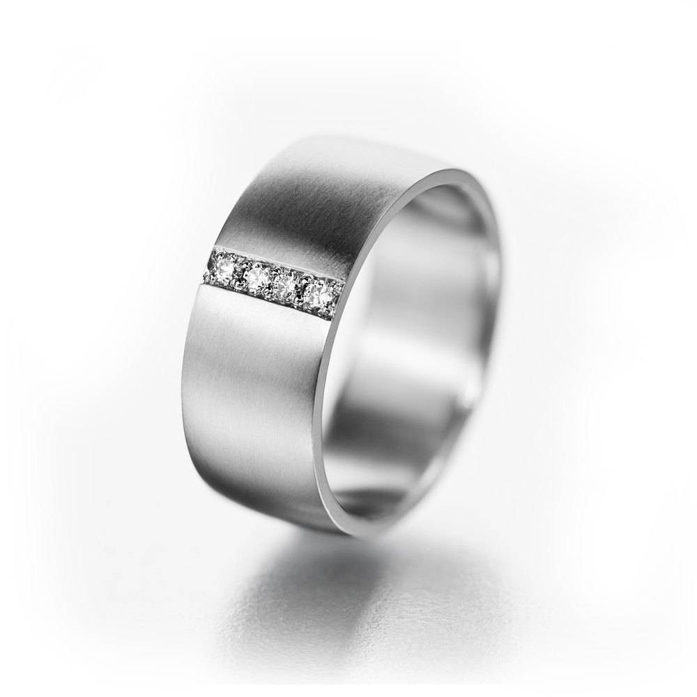 Wide Ring For Her Boho Ring For Her Her Titanium Wedding In Wide Wedding Bands For Her (View 7 of 15)