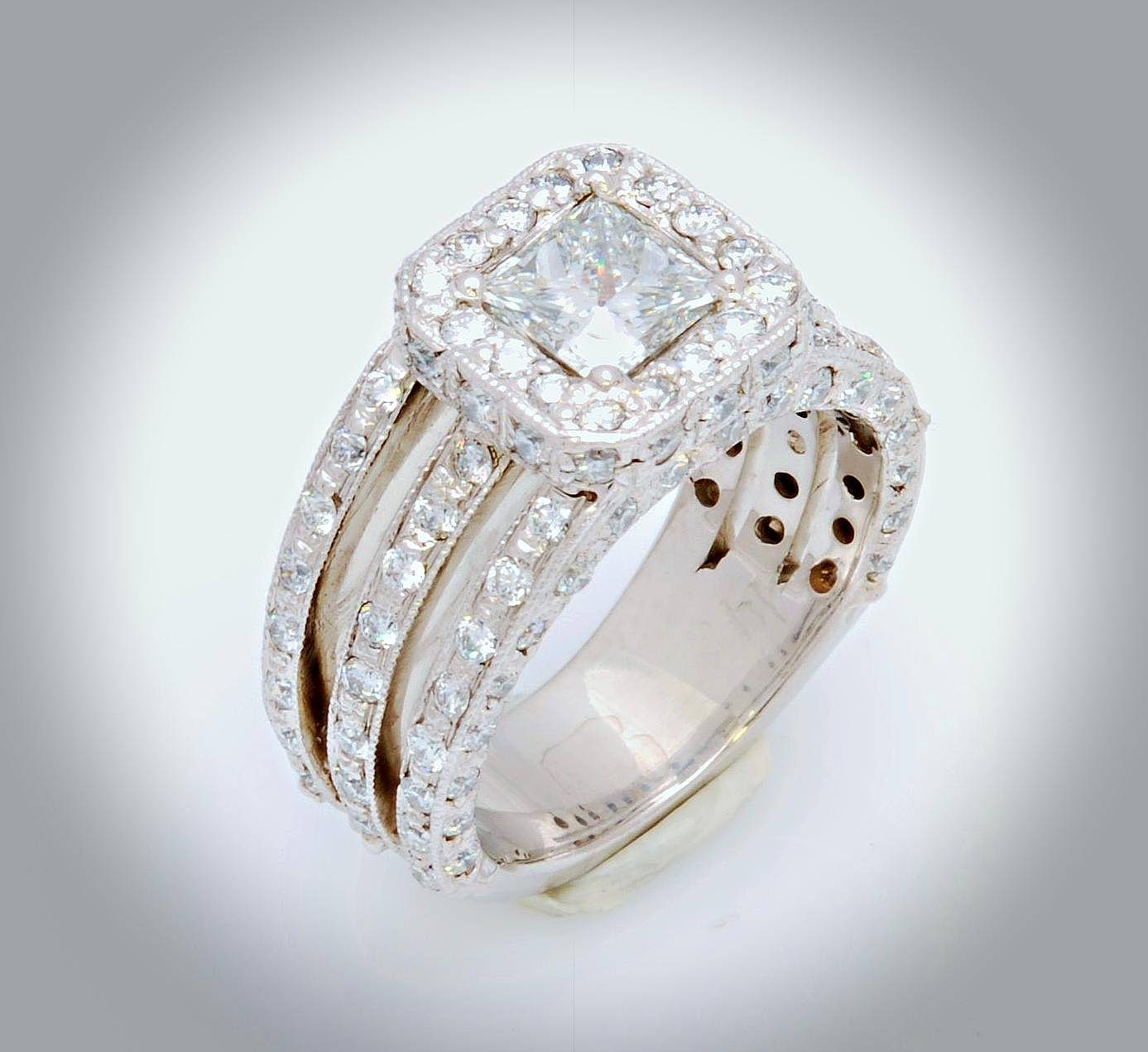 William's Custom Jewelers: Custom Jewelry In Salt Lake City, Utah Throughout Custom Wedding Rings Sets (View 15 of 15)