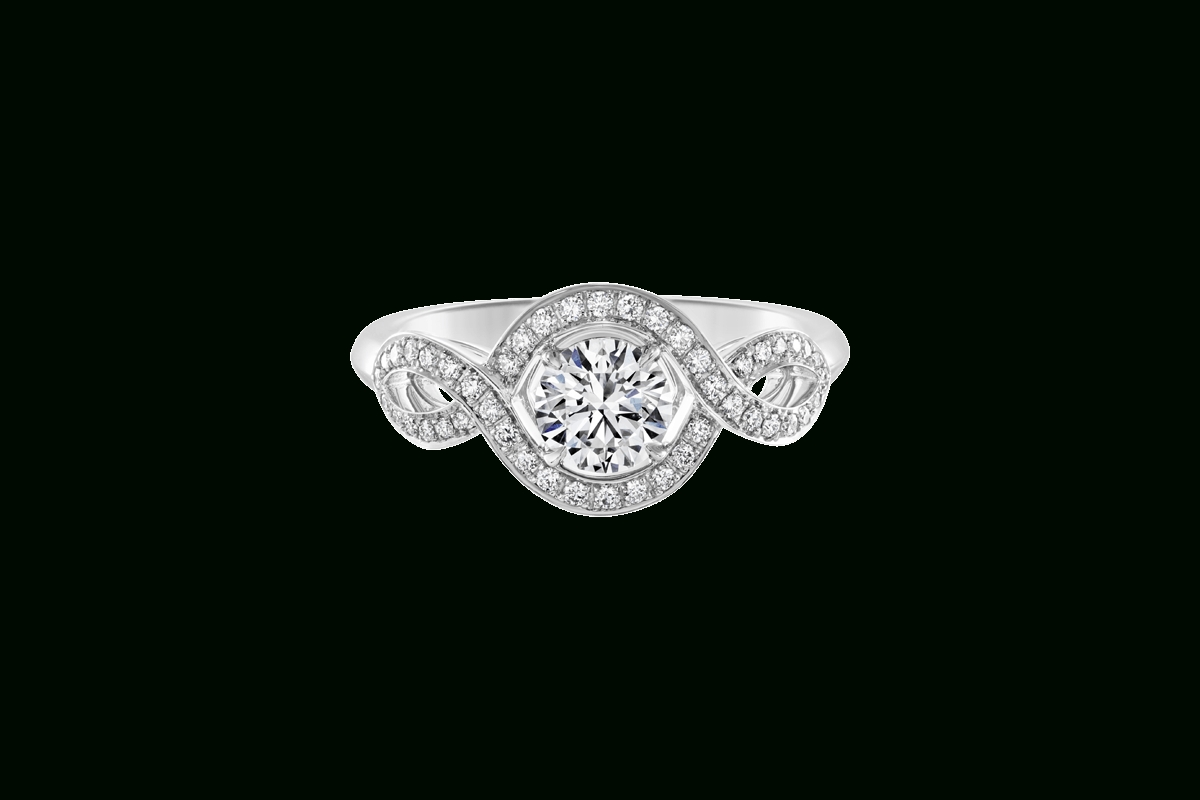 Winston Blossom Engagement Ring | Harry Winston Intended For Harry Winston Micropave Engagement Rings (View 15 of 15)