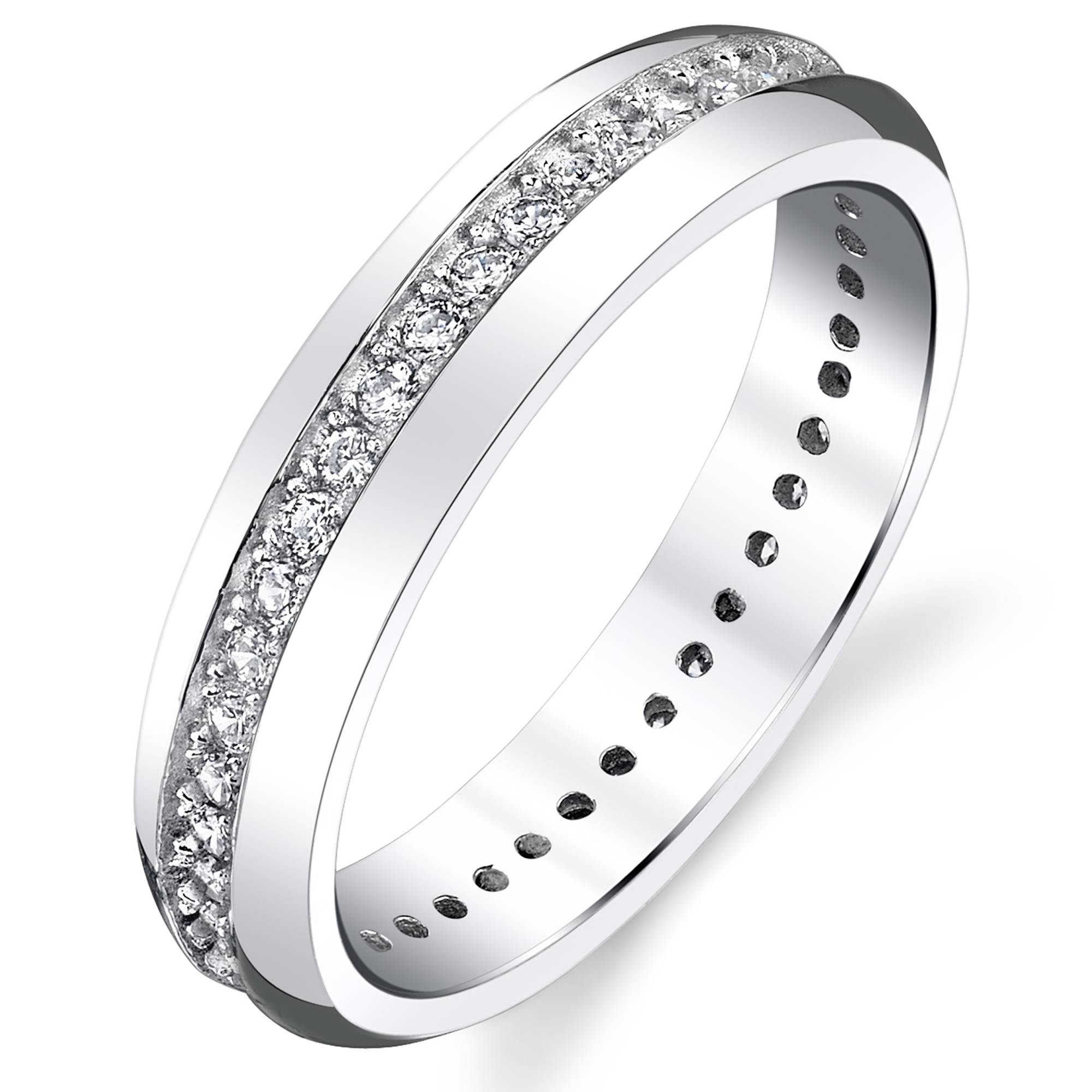 Women Wedding Bands – Walmart Throughout Wedding Bands For Women Walmart (View 12 of 15)