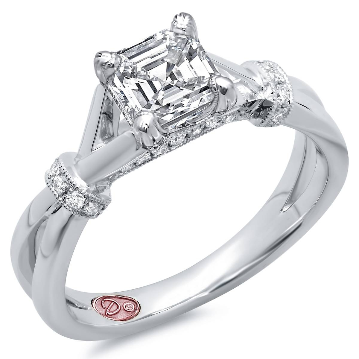 Womens Designer Engagement Rings | Demarco Bridal Jewelry Official Throughout Womans Engagement Rings (View 15 of 15)