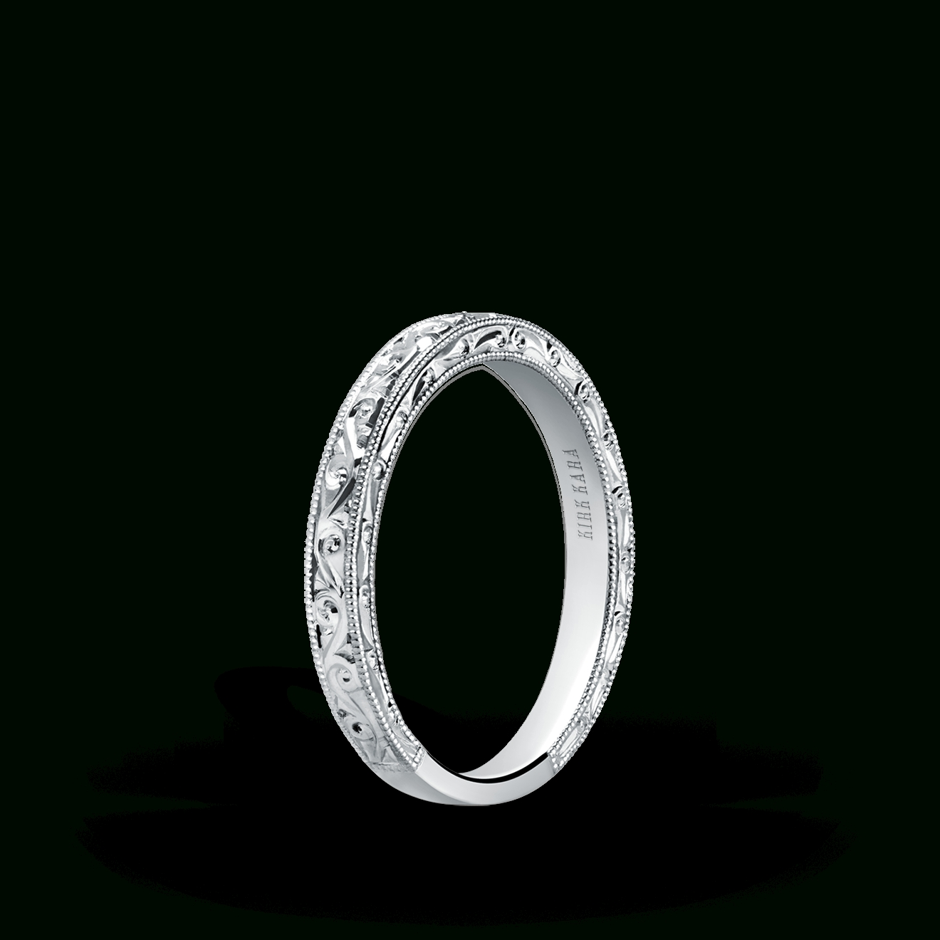 Women's Wedding Bands Without Diamonds – Kirk Kara In Unique Wedding Rings Without Diamonds (View 15 of 15)