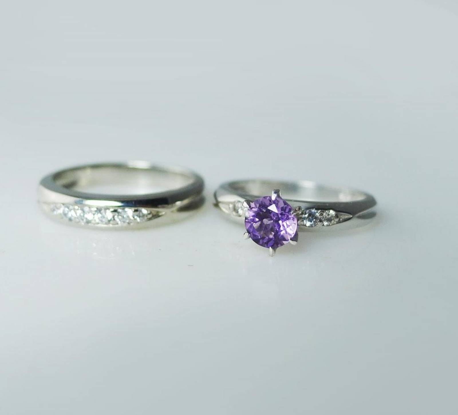 wonderful purple wedding rings photos concept wedding ideas with purple wedding bands gallery 10 - Purple Wedding Rings