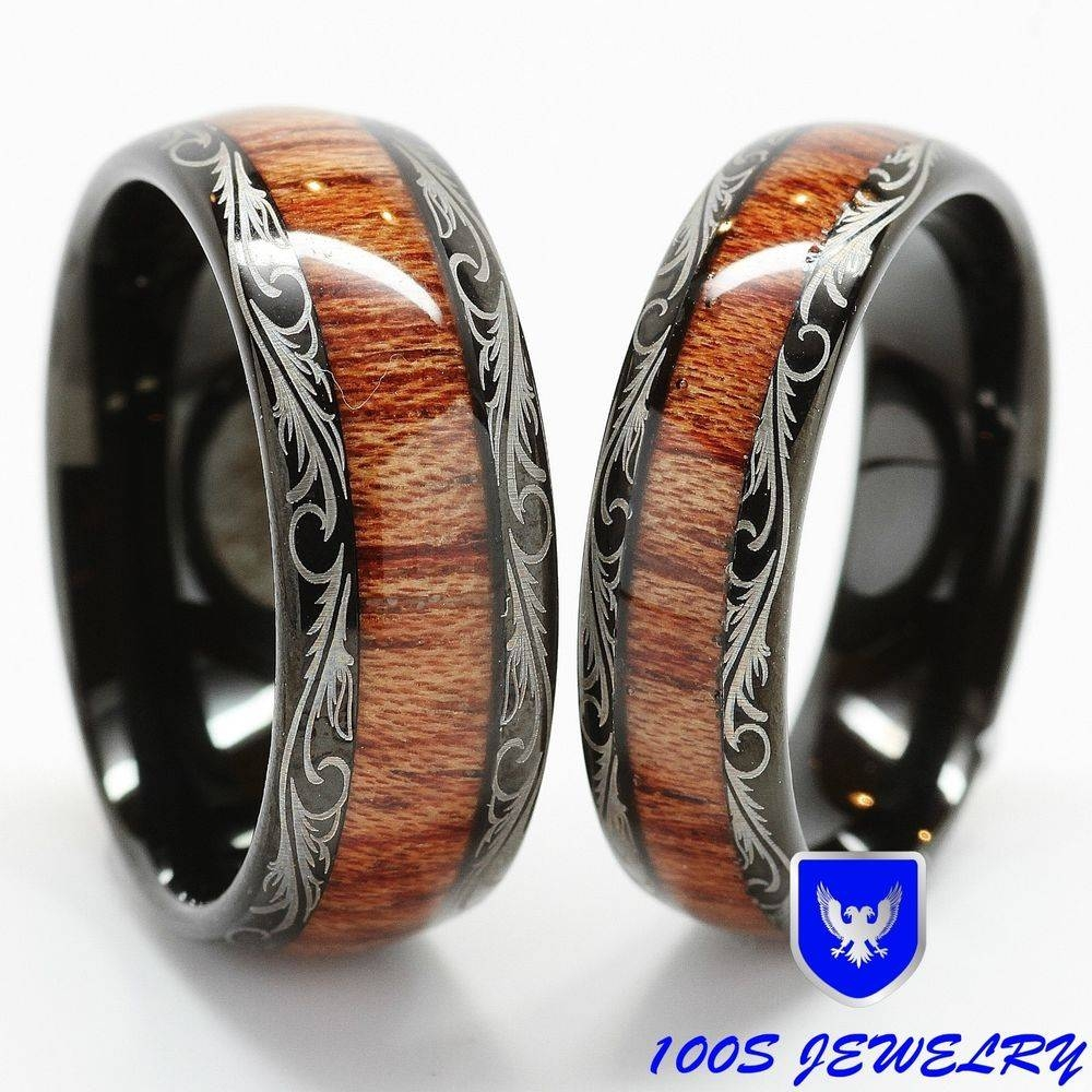 Wood And Metal Wedding Band – Mens Wedding Rings Intended For Men's Wood Grain Wedding Bands (View 10 of 15)