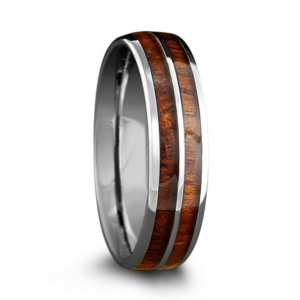 Wood And Metal Wedding Band – Mens Wedding Rings Regarding Wood And Metal Wedding Bands (View 13 of 15)