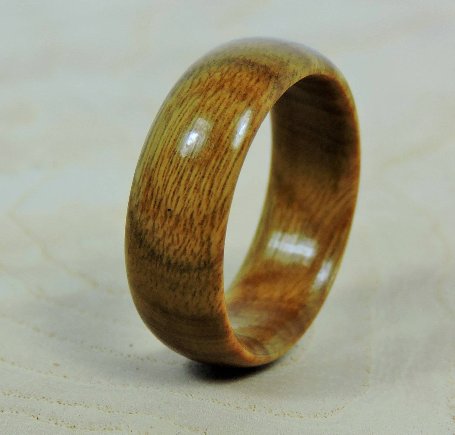 Wood Ring, Vera Wood Ring, Wooden Ring, Custom Made Ring, Mens With Regard To Mens Custom Wedding Rings (View 15 of 15)