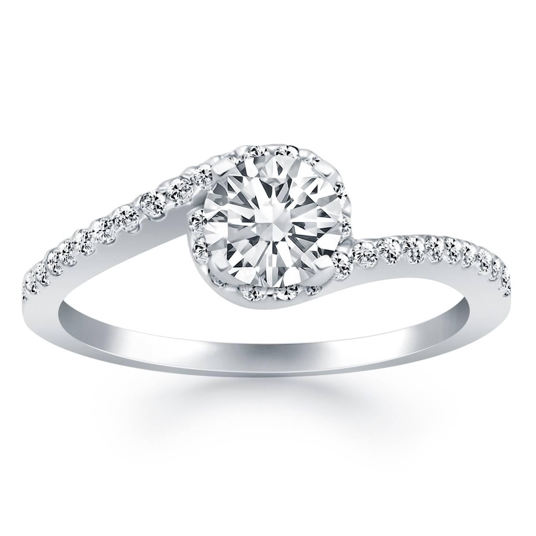 Wrap Around Diamond Rings   Wedding, Promise, Diamond, Engagement Regarding Wrap Around Engagement Rings (View 16 of 20)