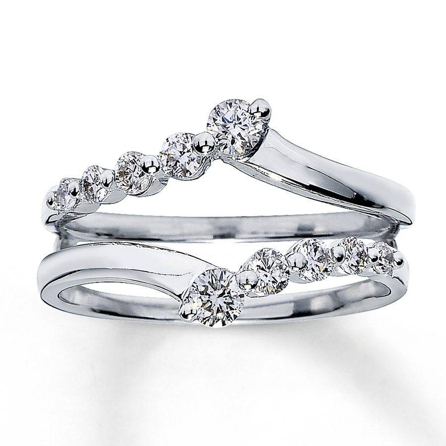 Wrap Around Engagement Rings – Durham Rose Throughout Wrap Around Engagement Rings Wedding Band (View 3 of 15)