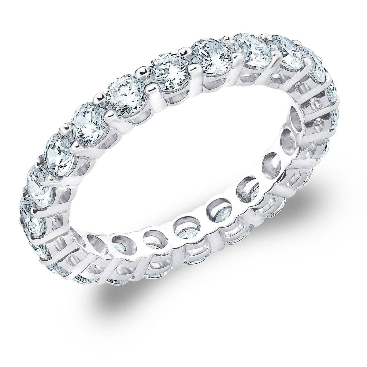 Featured Photo of Diamonds Wedding Bands