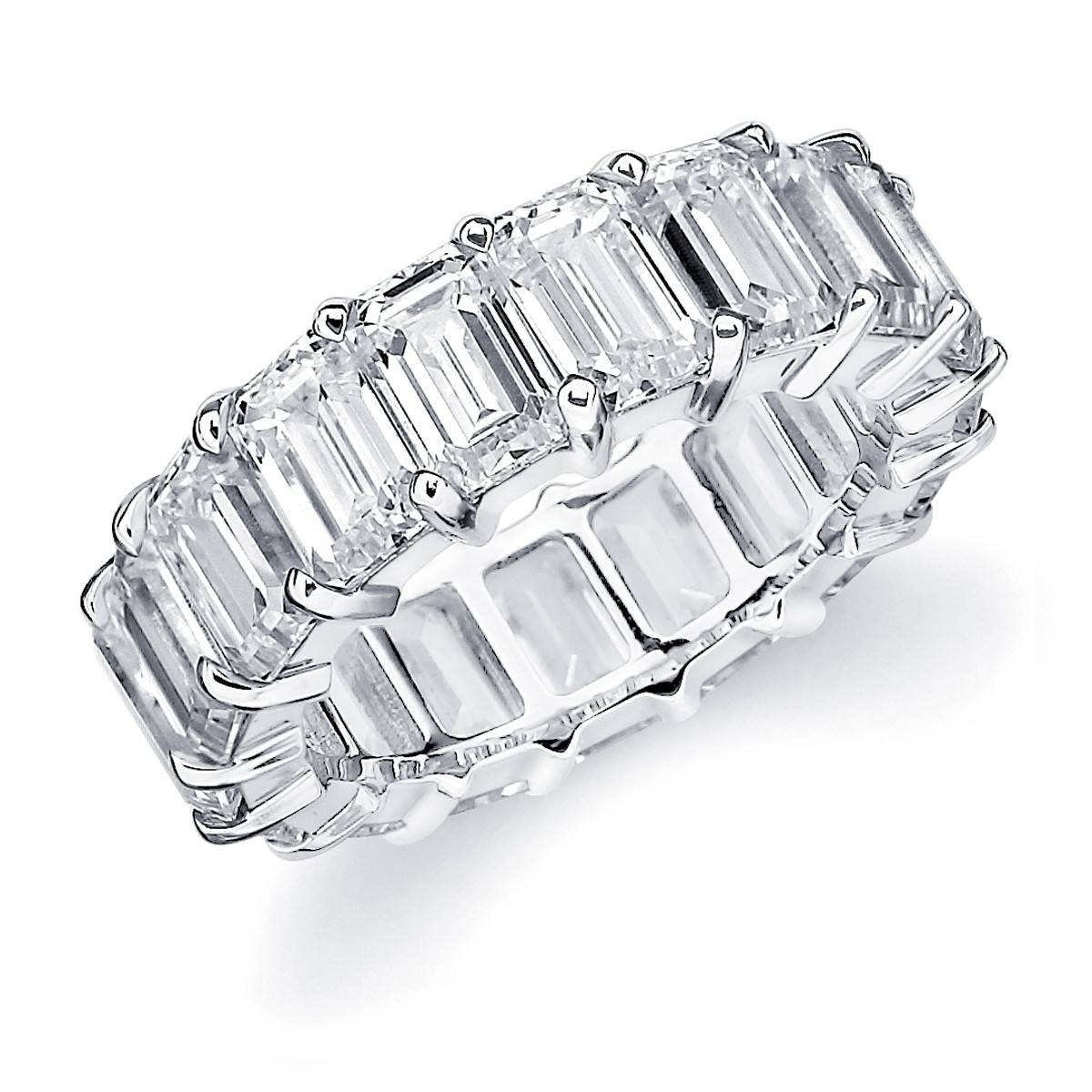1 Carat Diamond Eternity Ring Platinum Tags : Eternity Wedding With Regard To Recent Platinum Eternity Wedding Bands (View 7 of 15)