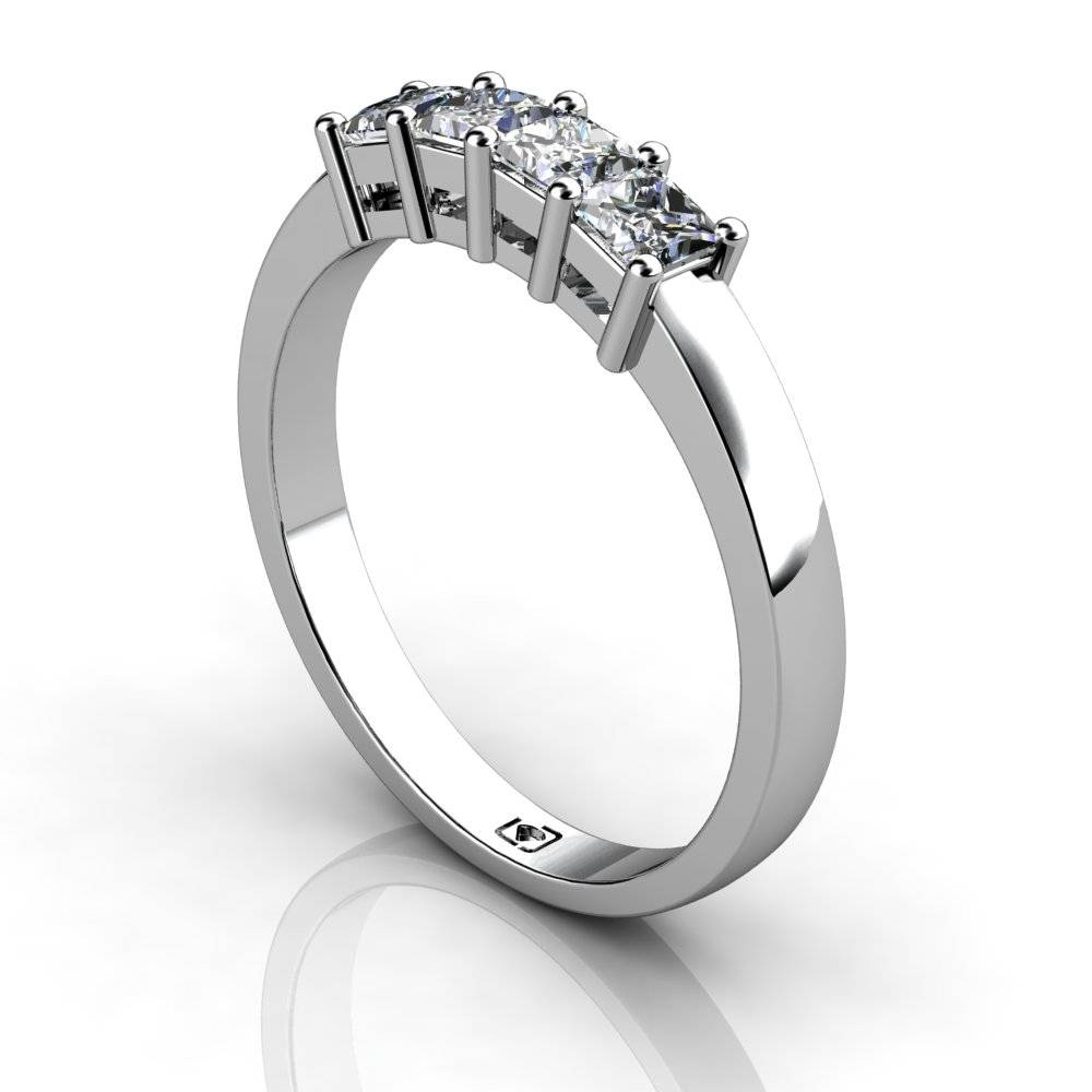 Featured Photo of 4 Diamond Wedding Bands