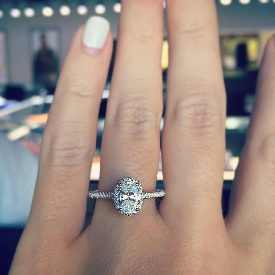 16 Oval Engagement Rings That Prove They're The Best – Designers Regarding Oval Engagement Rings (View 2 of 15)