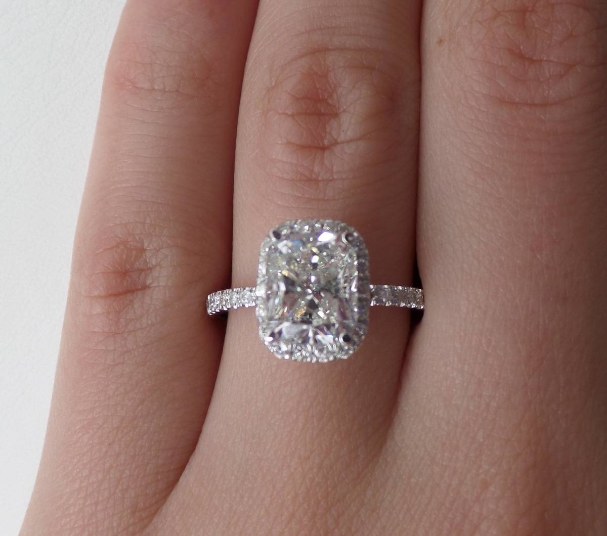 2 Carat Diamond Solitaire Engagement Rings Hd |ring | Diamantbilds Within (View 8 of 15)