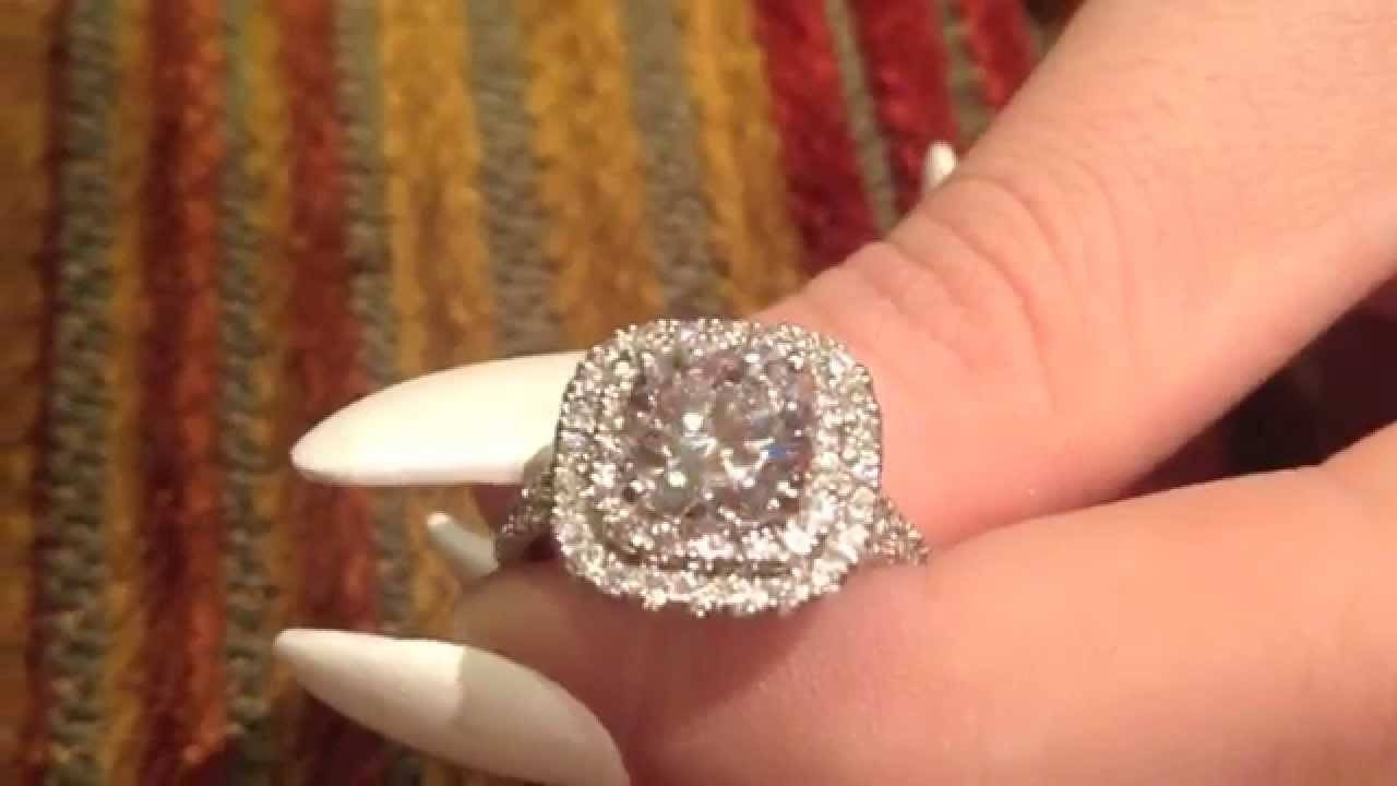 Featured Photo of 2 Karat Cushion Cut Engagement Rings