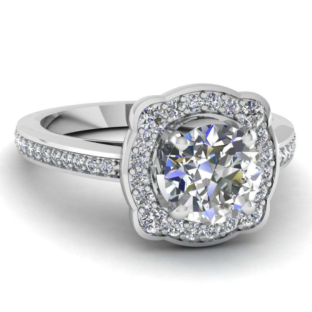 20 Styles Of Square Engagement Rings That One Can Never Resist For Square Double Halo Engagement Rings (Gallery 13 of 15)