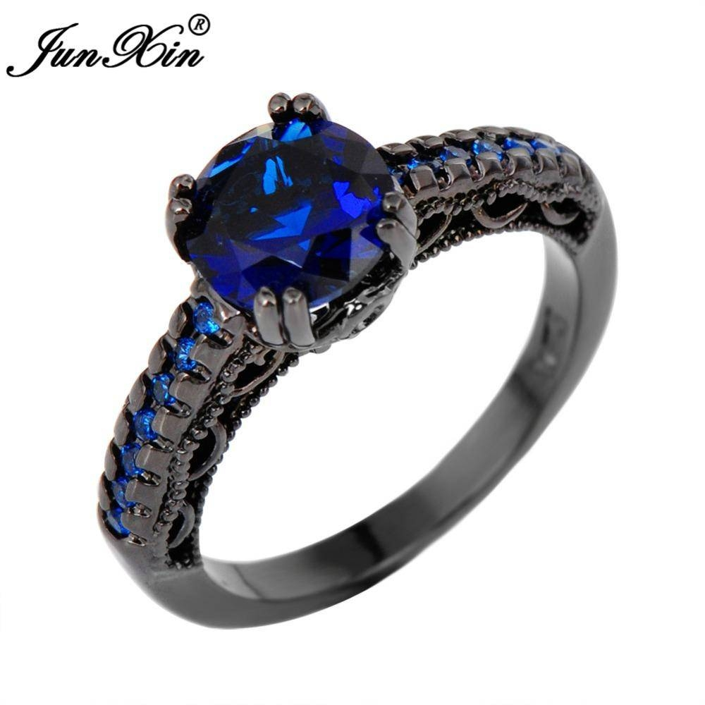 15 Ideas of Blue Wedding Bands For Men