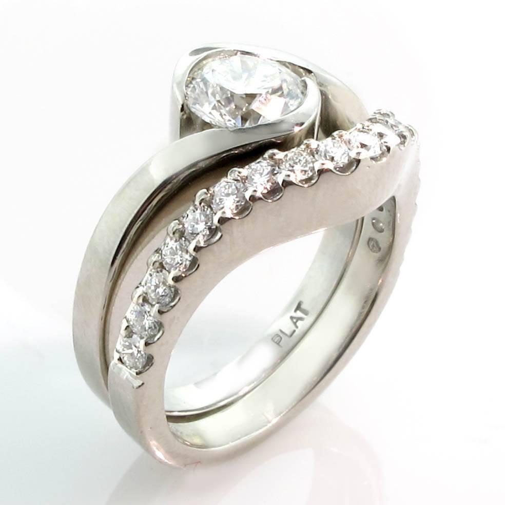 2017 Popular Custom Design Wedding Rings Intended For Recent Custom Design Wedding Bands (View 1 of 15)
