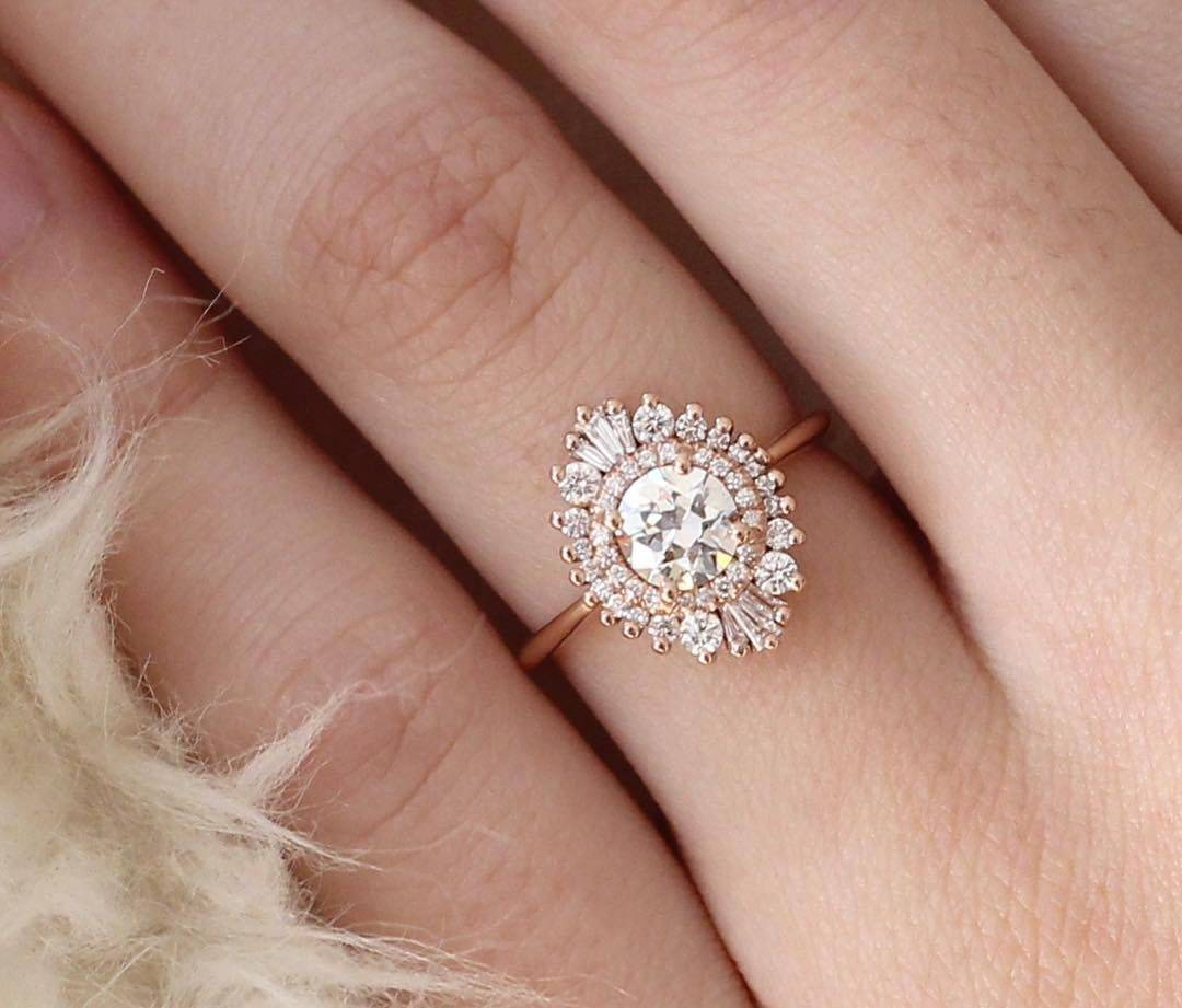 23 Unique Engagement Rings – Fashiotopia Inside Unique Engagement Rings (View 1 of 15)