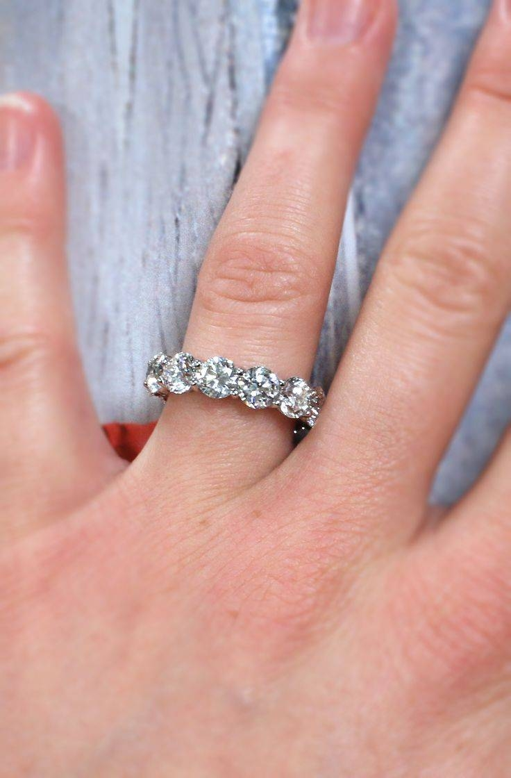 50 Best Wedding Bands Images On Pinterest | Wedding Bands, White Throughout Best And Newest Diana Wedding Bands (View 2 of 15)