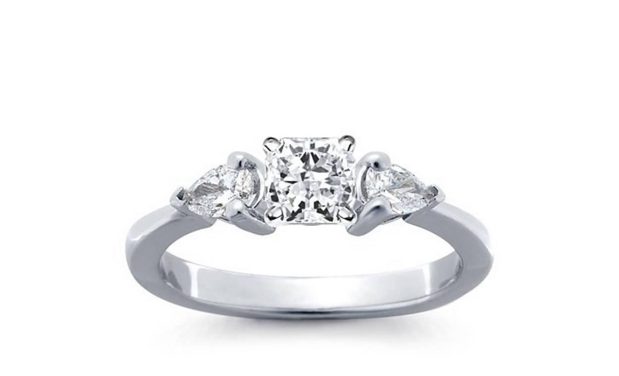 62 Diamond Engagement Rings Under $5,000 | Glamour Inside 5 Diamond Engagement Rings (View 6 of 15)