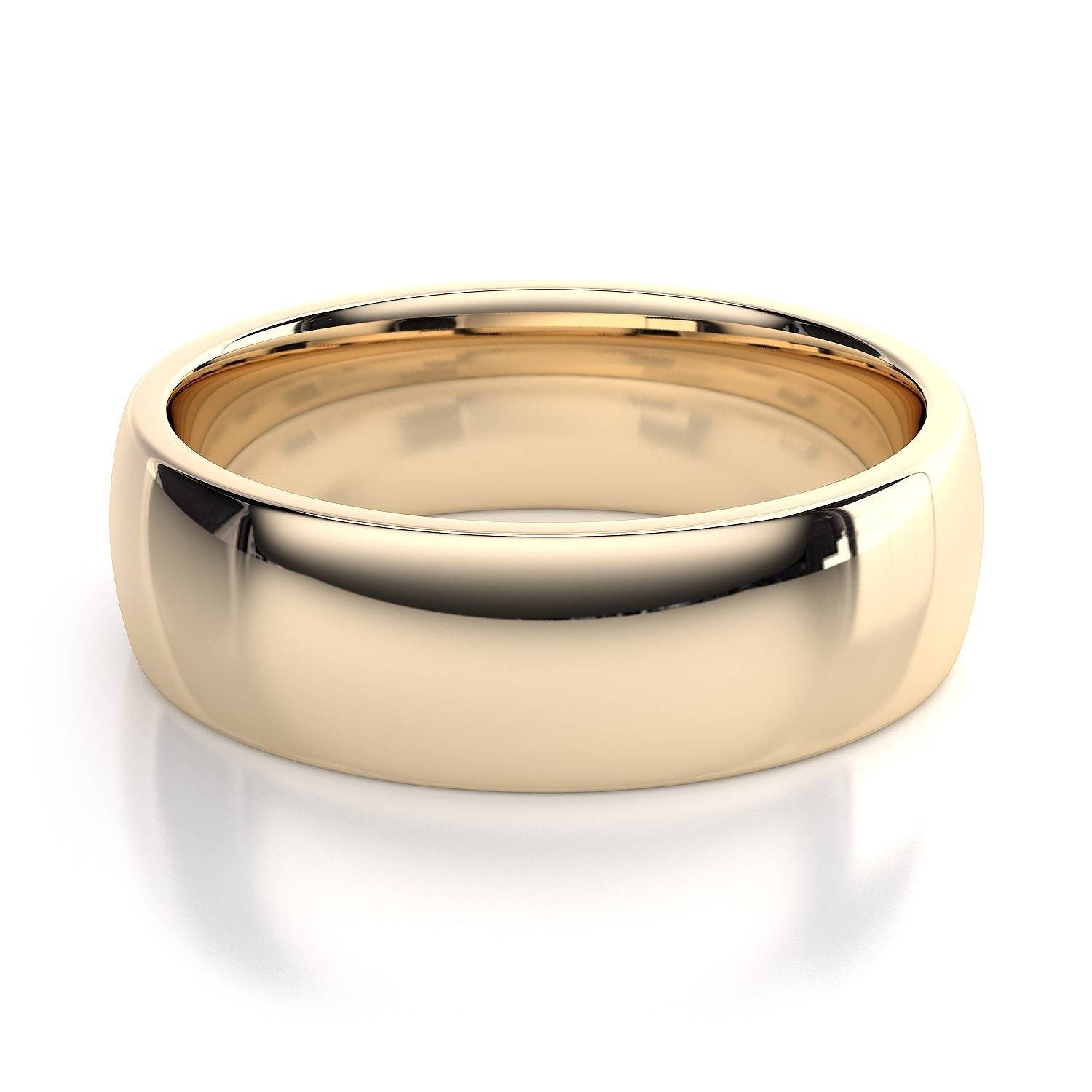 Featured Photo of Men Yellow Gold Wedding Bands