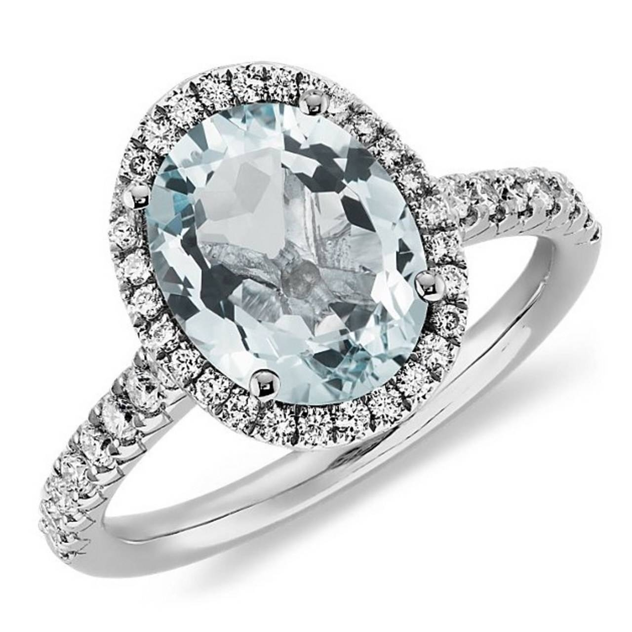8 Aquamarine Engagement Rings That Give Diamond Rings A Run For Pertaining To Diamond Aquamarine Engagement Rings (View 2 of 15)