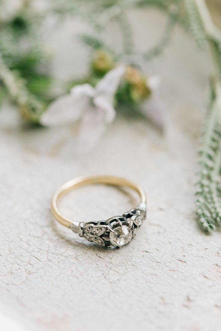 94 Best || The Ring || Images On Pinterest | Country Club Wedding Pertaining To Phoenix Vintage Engagement Rings (Gallery 10 of 15)