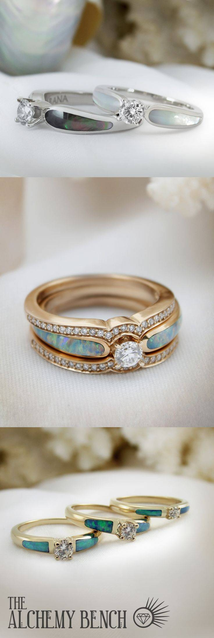 99 Best Unique Wedding Rings Images On Pinterest | Unique Weddings In Current Horizon Wedding Bands (View 1 of 15)