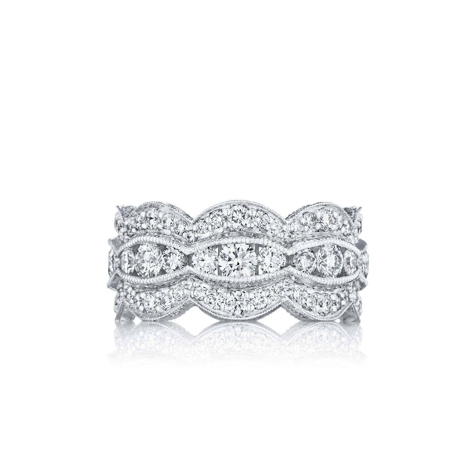 Adoration Ht2616B12 | Women's Wedding Band | Tacori Within Women's Wedding Bands (View 3 of 15)