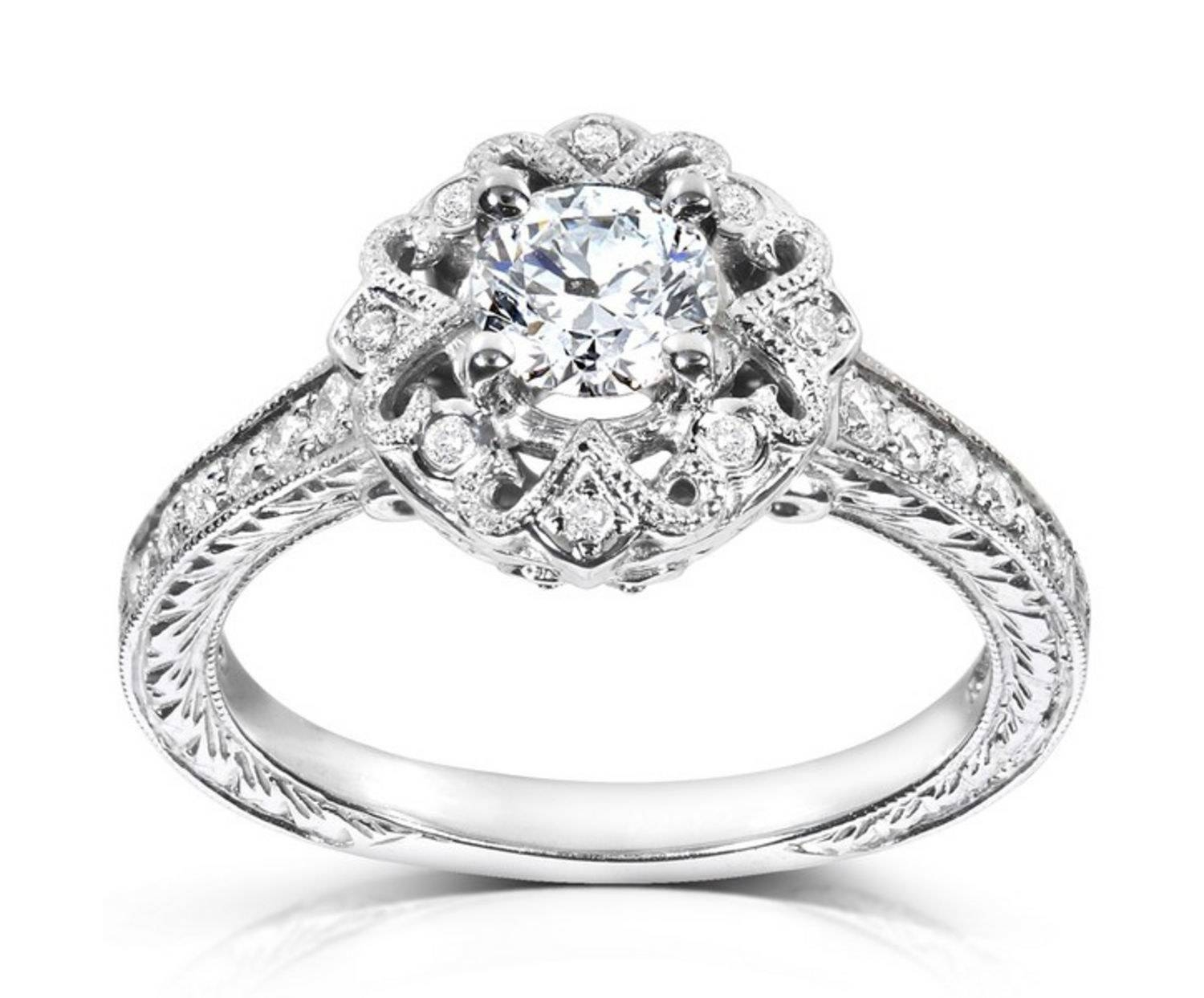 Affordable Engagement Rings Under $1,000 | Glamour With Chicago Diamond Engagement Rings (View 3 of 15)