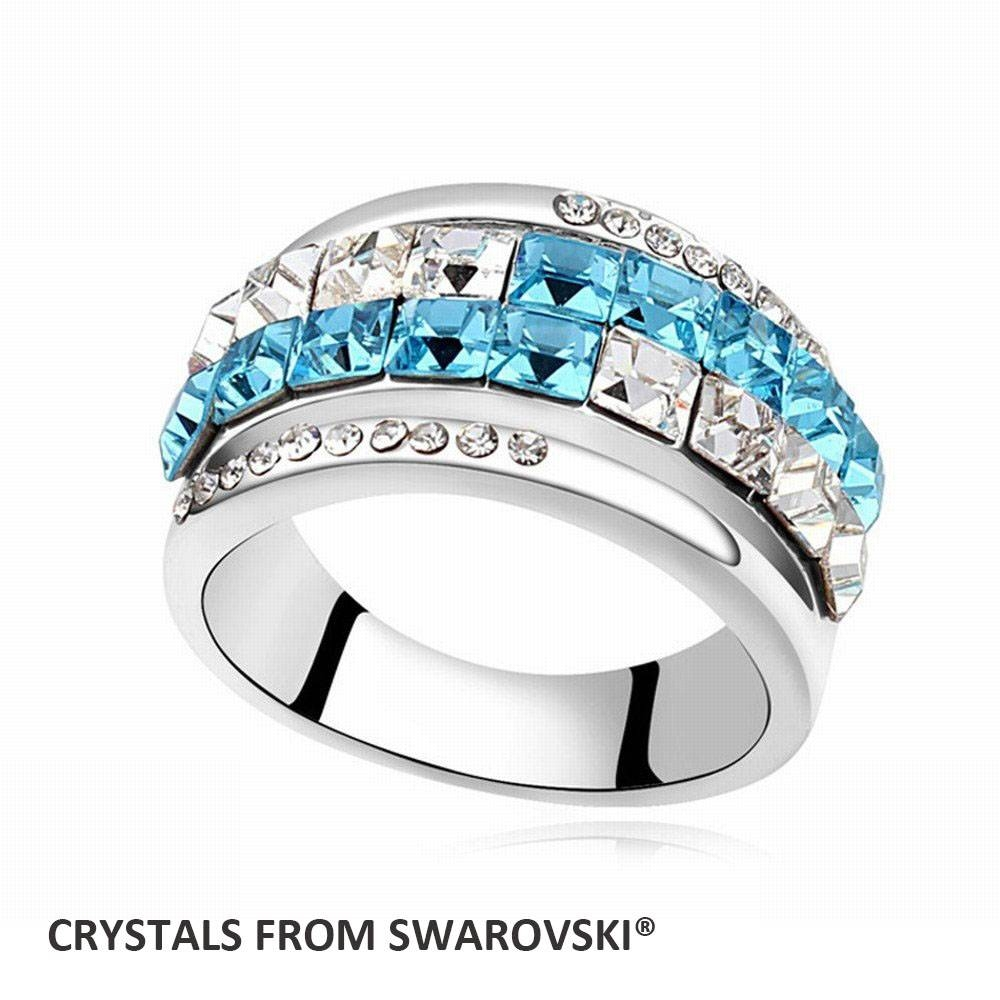 Featured Photo of Swarovski Wedding Bands