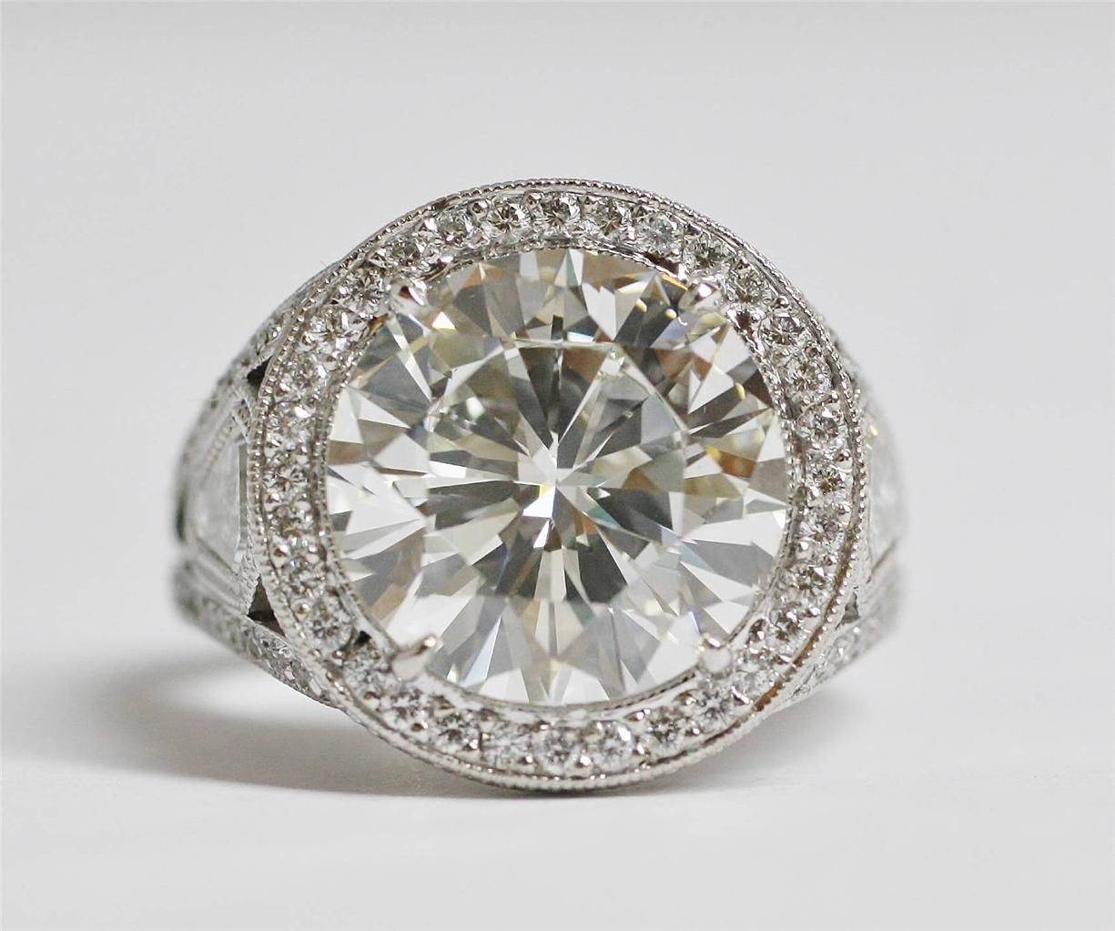Auction A Diamond Ring In San Diego, Ca Inside San Diego Engagement Rings (View 1 of 15)